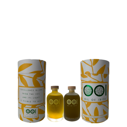 "OIL OF IBIZA  ""EXTRA VIRGIN ORGANIC OLIVE OIL IBIZA"""