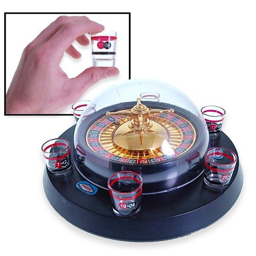 Electronic drinking roulette