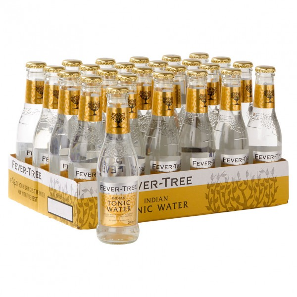 Fever-tree indian tonic (24x20cl bottles) 200ml