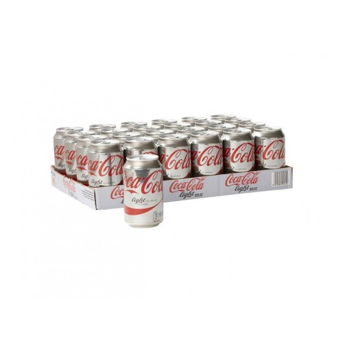 Coca Cola Light (Tray 24 Blikjes 330ml EU)