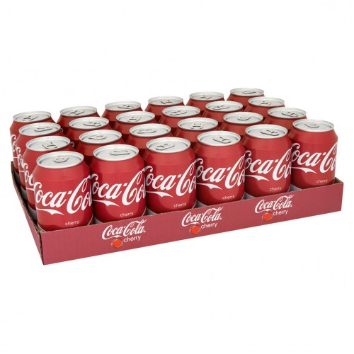 Coca Cola Cherry (Tray 24 Blikjes 330ml)